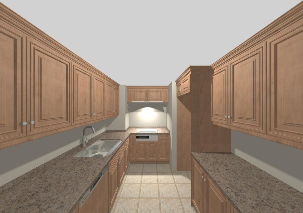 ホライゾンシリーズ「Manhattan」ドア採用キッチン・バックハッチ