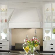 Angled Kitchen Hood