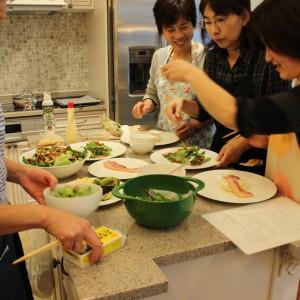 お友達とのお料理も楽しいですよ♪