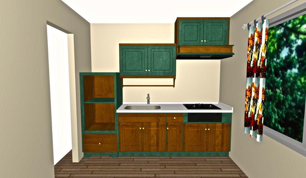 DeWilsキッチンだからできる「ドアとフレームを好きな色に変えた」プラン