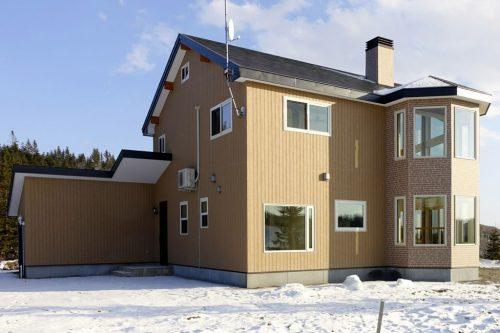 新築輸入住宅 外観
