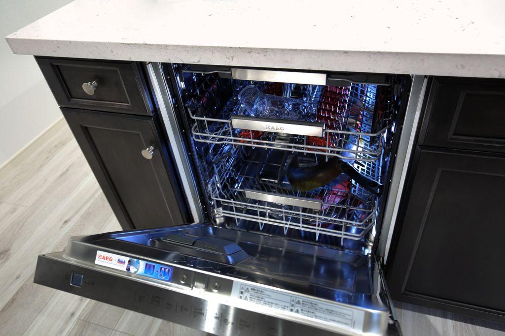 大容量の食洗器