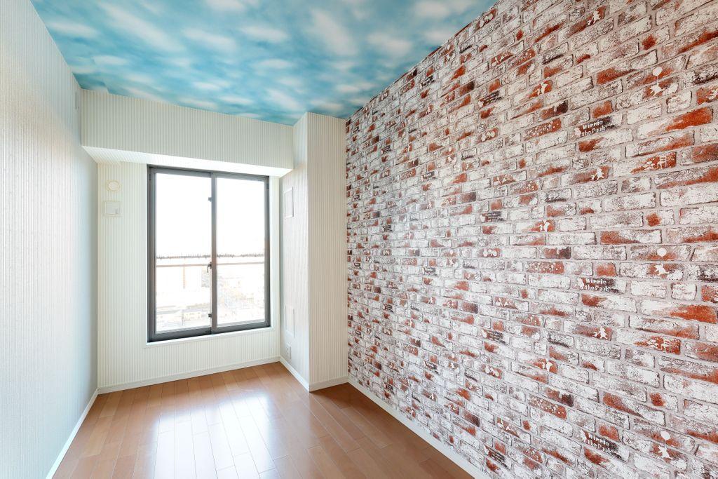 リビング以外はルノンの「プレミアムディズニーシリーズ」の壁紙を使用